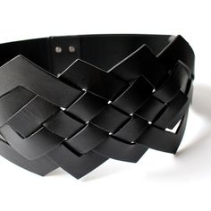 Braided leather belt: Valmy | Anne Fontaine