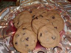 Nutty Chocolate Chip Malt Cookies