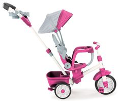 Amazon.com: Little Tikes Perfect Fit 4-in-1 Trike, Pink: Toys & Games