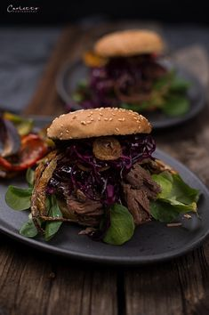 Pulled Beef – Steaks and Stories Pulled Beef, Steaks, Bbq, Meat, Ethnic Recipes, Food, Crispy Onions, Beef, Home Made
