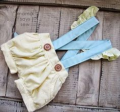 Fiona Suspender Shorts for Baby
