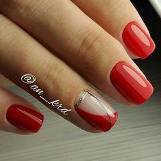 Vörös manikűr, gyönyörű, nőies színek és elbűvölő minták! - Finom ételek, olcsó receptek