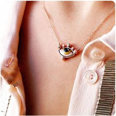 "WHITEbIRD |         ""Tu es partout"" necklace         -         Lito"