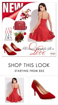 """""""Rosegal 62"""" by zbanapolyvore ❤ liked on Polyvore featuring WALL"""