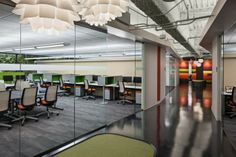 Technology services company Asurion recently worked with Gresham, Smith and Partners to create a work environment that met the needs of the company's software design staff in Atlanta.