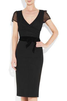 L'WREN SCOTT  Swiss dot tulle and crepe dress  $2,305