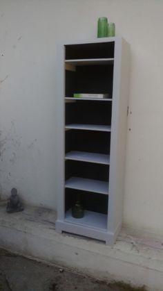 Petite bibliothèque rénovée Bordeaux, Bookcase, Shelves, Vintage, Home Decor, Small Bookcase, Shelving, Decoration Home, Room Decor