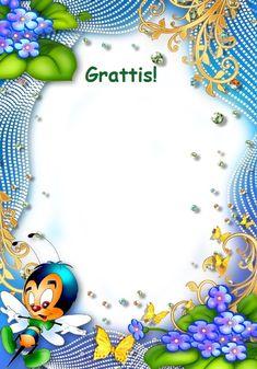 Gratis utskrivbara födelsedagskort för barn