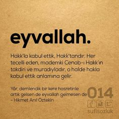 Learn Turkish, Rare Words, My Motto, Yoga Quotes, More Than Words, Sufi, Lorem Ipsum, Personal Development, Karma