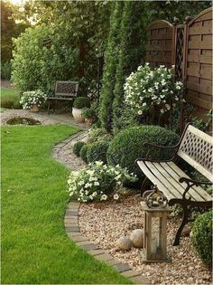 Low Maintenance Garden Design 45 Amazing Front Yard Landscaping Ideas To Make Your Home More Awesome.Low Maintenance Garden Design 45 Amazing Front Yard Landscaping Ideas To Make Your Home More Awesome Back Gardens, Outdoor Gardens, Front Yard Gardens, Small Gardens, Garden Landscape Design, Landscape Architecture, Landscaping Design, Landscape Designs, Rock Landscaping