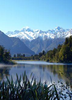 Lake Matheson,New Zealand: