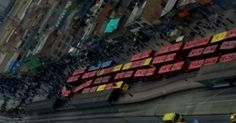 osCurve   Contactos : Bloqueo en estación de TransMilenio paraliza tronc...