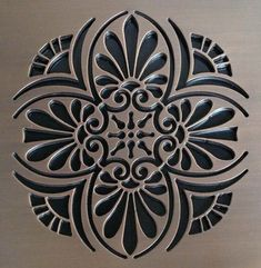Artistic Shower Drain Furniture, just because something is functional doesn't mean it can't be decorative