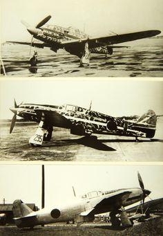 Kawasaki Ki-61 Hien fighters. CV-16
