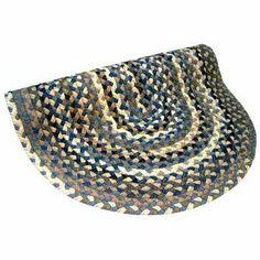 Beacon Hill Denim Blue, Grey & Tan Rug Size: 6' x 9' . $1261.00