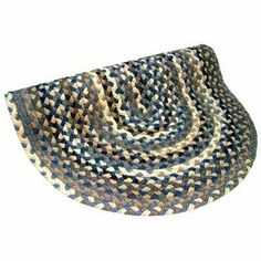 Beacon Hill Denim Blue, Grey & Tan Rug Size: Round 6' . $841.00