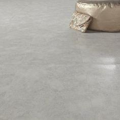 Dalle PVC adhésive AERO béton, beige, 60.96 x 30.48 cm