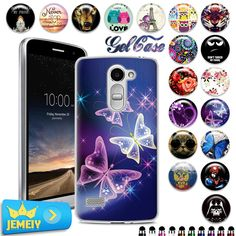awesome Etui For LG K8 K350E TPU Gel Case For LG Ray G5 K7 K10  Back Cover Soft Silicone for LG Magna C90 Nexus 5X Case Tempered Glass