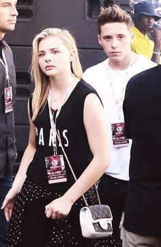 Brooklyn Beckham and Chloe Moretz at Made in America Festival in Los Angeles