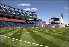 Gillette Stadium - Foxboro, MA - Home of the NFL New England Patriots and the MLS New England Revolution