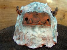 Yeti Monster 2 Sculpture By Riley Sell by YaYosCircus on Etsy