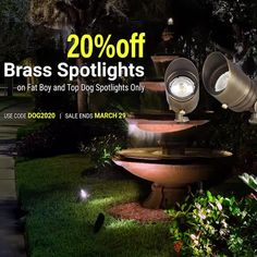 Now through Sunday March 29TH! ⁠ SAVE 20% ON SELECT SPOTLIGHTS ⁠ Use coupon code SPOT20 ⁠ #lighting #landscapedesign #homedecor #lightingdesign #outdoorliving #ledlighting #outdoorlighting #lightingideas