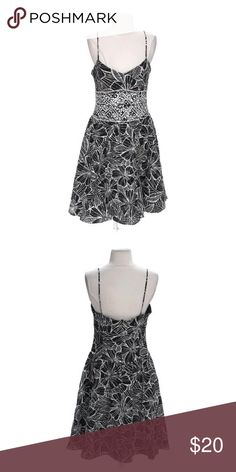 Positive Attitude Darling Dress Brand: Positive Attitude. Size: 8. Materials: cotton, polyester. Season: spring-summer, fall-winter. Colors: black, grey. Dry clean only. Price is firm. Dresses