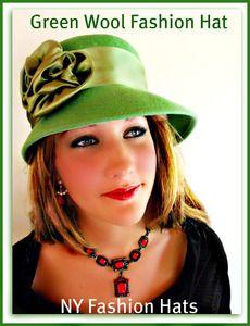 fbe47875729 Winter Fall Jade Green Dressy Women s Hat Apparel Accessories Hats