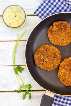 Smokey Sweet Potato, Black Bean & Brown Rice Veggie Burgers with Curry ...
