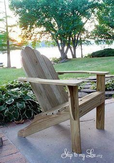Making Adirondack Chair Cushions Grey Floral Covers 35 Free Diy Plans Ideas For Relaxing In Your Backyard Woodenpatiochairs