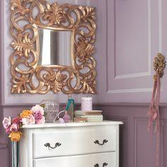 Miroir Barocco doré