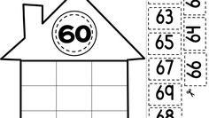Casita-de-los-numeros-006 - Orientación Andújar - Recursos Educativos 1st Grade Math, First Grade, Kids Education, Special Education, Sensory Bottles, Math For Kids, Emotional Intelligence, School Days, Worksheets