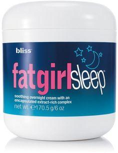 Bliss fatgirlsleep Soothing Overnight Cream