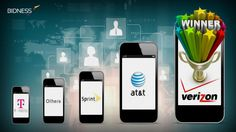 Once AT&T lost the exclusive right to market Apple's iPhone, it was unable to hold off Verizon's growing influence in the postpaid subscriber market Verizon Communications, Smartphone, Marketing, Iphone, Lost, Apple, Business, Apple Fruit, Store