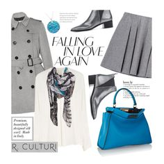 How To Wear R.Culturi scarves Outfit Idea 2017 - Fashion Trends Ready To Wear For Plus Size, Curvy Women Over 20, 30, 40, 50