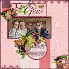 4 Generations  -  Temptations 18 from Wendy Tunison Designs