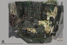 temple concept art - Google Search