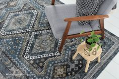 Cotton Rugs, Woven Cotton, Traditional Rugs, Rug Making, Shades Of Blue, Blue Grey, Area Rugs, Beige, Flat