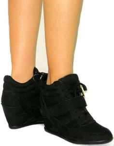. Ankle Sneakers, Wedges, Shoes, Fashion, Moda, Zapatos, Shoes Outlet, La Mode, Wedge