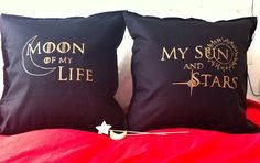 Game of thrones - 2 decorative pillow case by Traviart on Etsy
