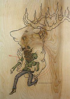 Birch Works by Clint Reid, via Behance