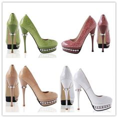 2015Fashion Colorful Genuine Leather Sandals Women Special Beaded High Heels Ladies Single pumps Dress Shoes Wedding Shoes
