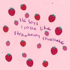 Find images and videos about pink, aesthetic and strawberry on We Heart It - the app to get lost in what you love. Kawaii, Red And Pink, Pretty In Pink, Purple, Alluka Zoldyck, Under Your Spell, Red Aesthetic, Aesthetic Quote, Couple Aesthetic