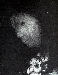 "Odilon Redon ""Head of Woman"""