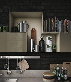 Le cucine componibili moderne di Stosa Cucina: oltre al design tanta praticità #cucine #stosa #cucinemoderne www.stosacucine.com