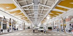 Built by Ravetllat Ribas Architects in Barcelona, Spain with date 2011. Images by Adrià Goula. The relocation of Sant Antoni Sunday Market…