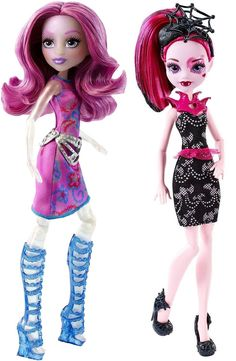 Monster High WELCOME TO MONSTER HIGH™ POPSTAR FANG GHOULS w/ Draculaura & Ari Hauntington (IN-STOCK)