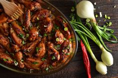 Kung Pao Chicken, Chicken Wings, Grilling, Food And Drink, Beef, Cooking, Ethnic Recipes, Foods, Chicken