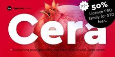 Cera PRO font download