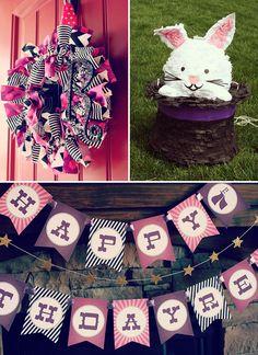 Sparkly, Pink & Vintage Magic Party : HWTM